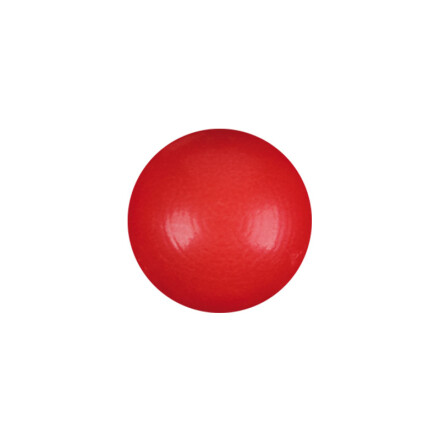 ball 2,2cm white red color