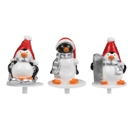ass pinguins with hat 4 cm