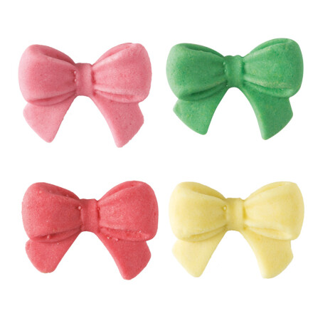assorted bow paste
