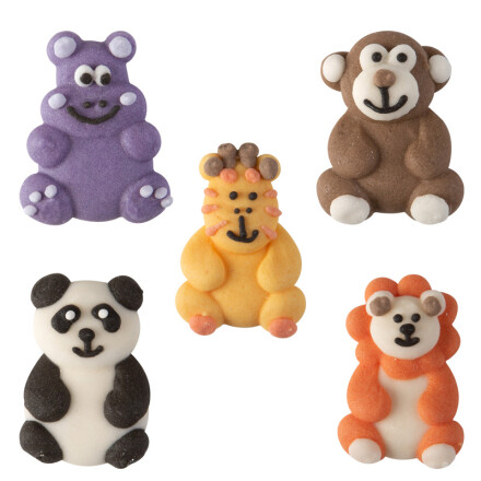 assortiment animals flat