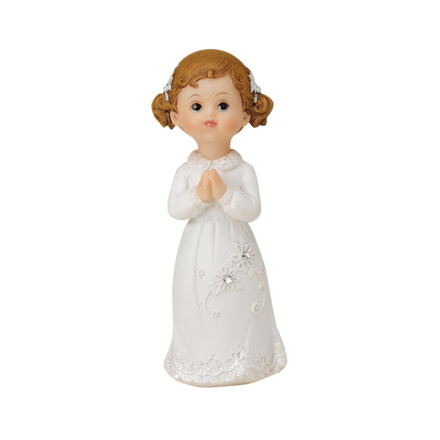 communion girl 10,5cm synth. res.