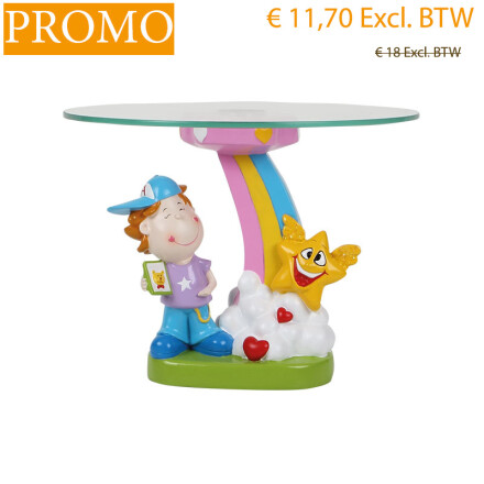 cake holder boy h17cm