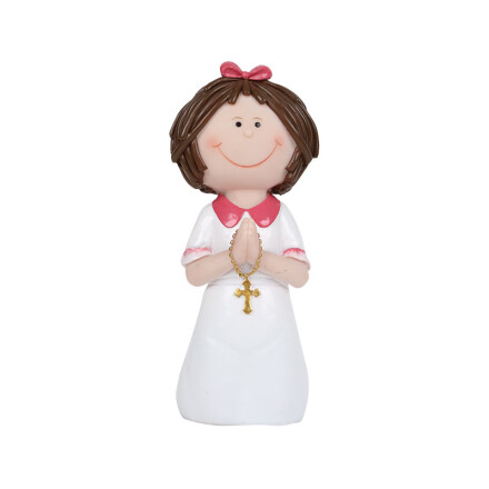 communion girl 8,5cm synth. res.