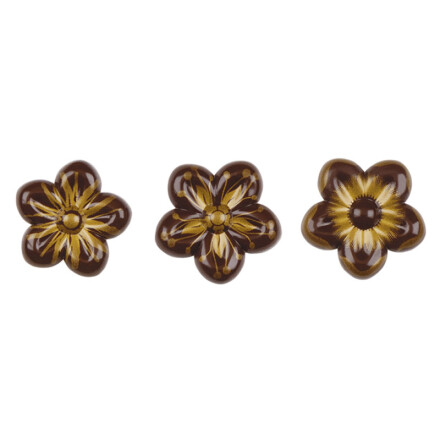 flower 5cm   with gold