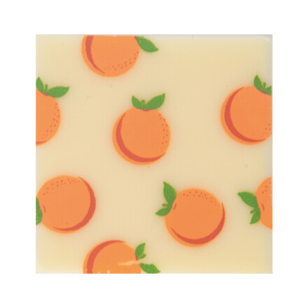plaque oranges 3cm