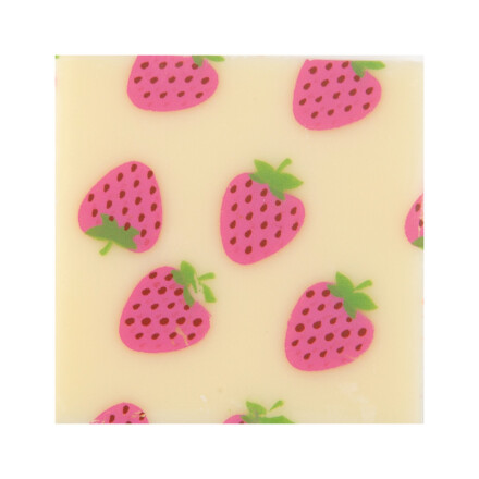 plaque strawberries 3cm