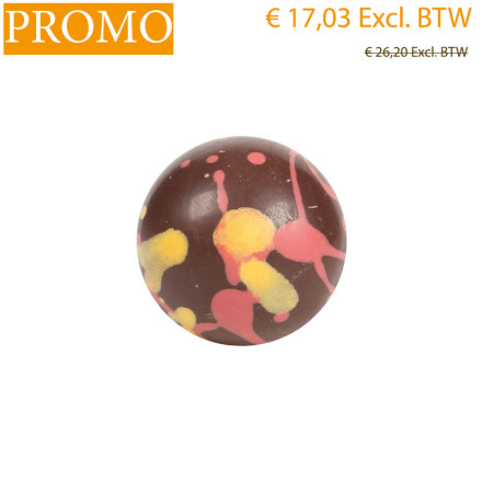 ball red orange dots 2,8 cm