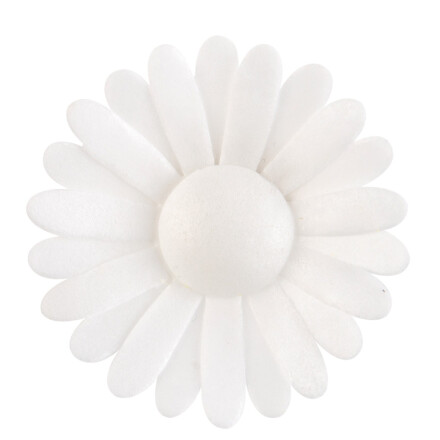 flower madison white 000 / double daisy 6
