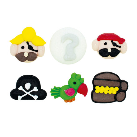 pirates set  2,5cm