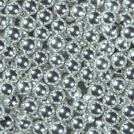 silver pearls 6 mm