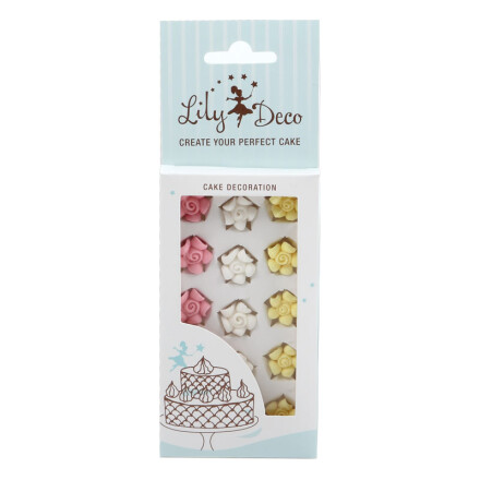 blister lily deco rose  2,3 cm