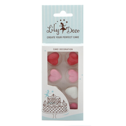 blister lily deco hearts