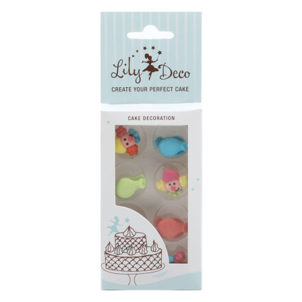 blister lily deco clowns