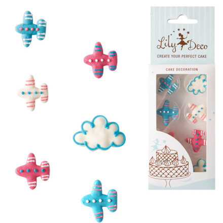 blister lily deco air planes