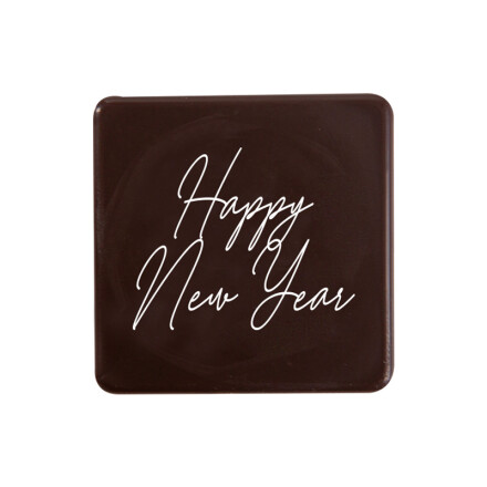"""Carré """"Happy New Year' 3x3 cm"""