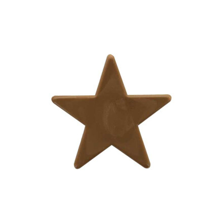 star 5,5 cm  brown