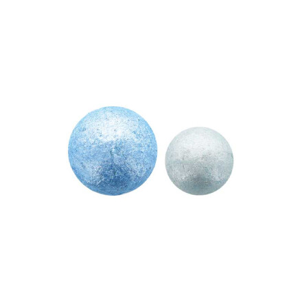 ball disco blue color 2,8 - 2,2 cm