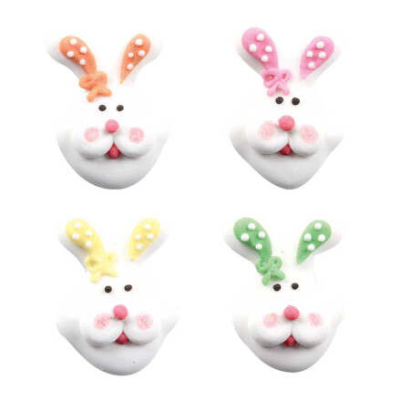 easter bunnies colored ears